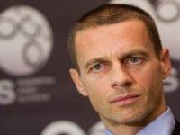 UEFA Başkanı Ceferin: Ocak ayında İstanbul'da seyircili finali kabul ederim