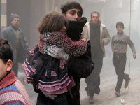İnsanların açlıktan öldüğü Yermuk'a varil bombalı saldırı