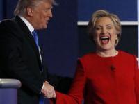 Clinton ile Trump arasındaki son söz düellosu