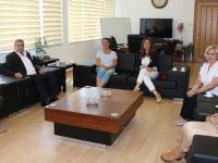 Güzellik Uzmanları Birliği Gazimağusa Belediyesi'ni ziyaret etti