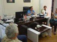 Büyükkonuk belediyesi TAK'ı ziyaret etti...