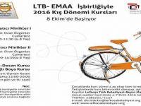LTB ile EMAA işbirliğinde düzenlenen kış dönemi kursları başlıyor