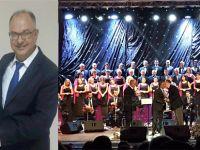 Çağdaş Müzik Derneği Başkanı Tünay'a Çorlu'dan ödül...