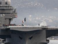 Avrupa'nın en büyük uçak gemisi Charles de Gaulle Limasol Limanı'nda