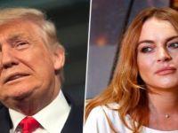Trump'ın bir ses kaydı daha ortaya çıktı: Lindsay Lohan yatakta harika!