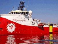 Barbaros Sismik Araştırma Gemisi Doğu Akdeniz'de
