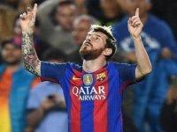 Şampiyonlar Ligi'nde haftanın oyuncusu Messi