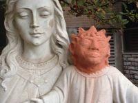 Amatör sanatçıdan tepki çeken İsa restorasyonu!