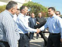 Başbakan Özgürün İskele'de UBP'lilerle bir araya geldi