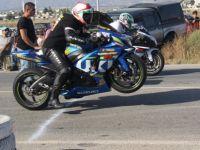 Motosiklet tutkunları İskele'de buluştu