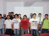 LAÜ Ertuğrul Apakan Kütüphanesi'nde eğitim semineri verildi