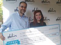 Kansere karşı Savaşta iki Toplumlu Proje Stelios Ödülü'ne hak kazandı