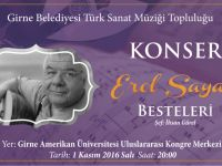 Girne Belediyesi Türk Sanat Müziği Topluluğu 50'inci Konserini veriyor