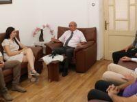 Çözüm ve Barış Platformu'ndan bir heyet TDP'yi ziyaret etti