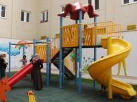 Gazimağusa Devlet Hastanesi'nde Engelsiz Çocuk Parkı açıldı
