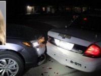Üstsüz selfie çeken öğrenci polis aracına çarptı