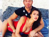 Irina Shayk ve Mert Alaş'tan tatil fotoğafı