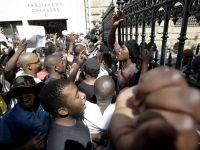 Güney Afrika'da öğrencilerin harç zammı protestosu