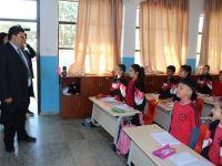 Berova, Hamitköy Dr. Fazıl Küçük İlkokulu'nda incelemelerde bulundu
