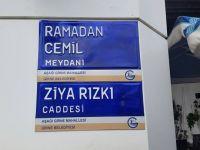 Girne'de aralık sonuna kadar 240 yeni sokak Levhası daha monte edilecek