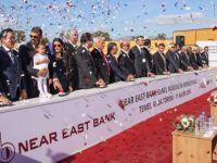 Near East Bank Genel Müdürlük Merkez Binası'nın temeli atıldı