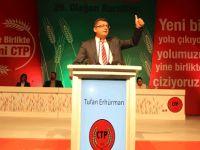 Ve CTP Genel Başkanı resmen Tufan Erhürman oldu...
