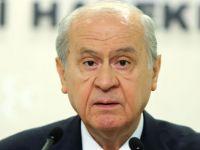 MHP lideri Kıbrıs ile ilgili konuştu