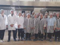 A.M.L. Gıda Teknolojisi öğrencileri eğitimlerini 'yerinde' sürdürdü