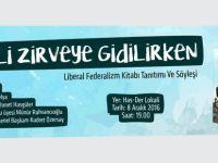 """""""Liberal Federalizm"""" kitabının tanıtımı ve panel etkinliği yapılacak"""