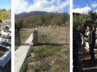 Siligu Mezarlığı'ndaki Kıbrıslı Türklerin türbeleri yaptırıldı