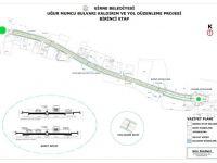 Uğur Mumcu caddesi yol düzenleme projesi birinci etabı için ihaleye çıkıldı