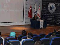 Ünlü Senarist-yazar Nazan Arısoy LAÜ'de öğrenciler ile biraraya geldi