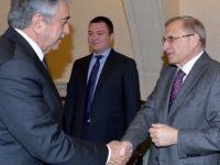 Akıncı, Rusya büyükelçisini kabul etti