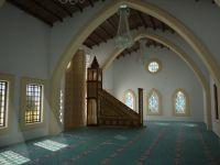 Kıbrıslı Maronit ve Türk köyü olan Gürpınar'da camii'nin temeli atıldı