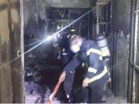 Laboratuvarda çıkan yangın, ihtiyaçları ortaya çıkarttı
