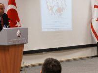 """UKÜ'de """"Özel Eğitime Bakış"""" konferansı..."""