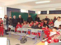 Çatalköy  İlkokulu'nda  şehitler anıldı