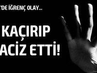 Girne'de bir kadın kaçırılarak tacize uğradı...
