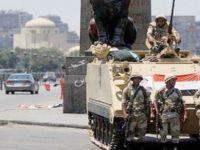 Mısır'da bir polis ve 1 asker yaralandı, 10 saldırgan öldürüldü
