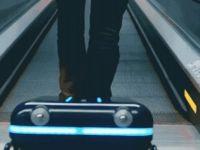 Akıllı valiz sizi takip edecek