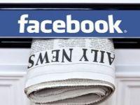 Facebook gazeteciliğe soyunuyor