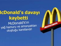 McDonald's davayı kaybetti!