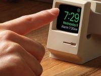 Apple Watch'lar için Macintosh görünümlü şarj cihazı