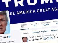 Trump Başkanlık hesabını değil, kendi hesabını kullanacak