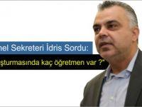 """TDP Genel Sekreteri Asım İdris: """"KKTC'de FETÖ soruşturmasında kaç öğretmen var ?"""""""