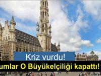 Kıbrıs Rum kesimi Brüksel Büyükelçiliği'ni kapattı