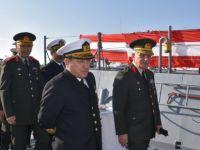 TC Deniz Kuvvetleri Komutanlığı'ndan GKK'ya hibe edilen 2 bot teslim edildi