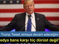 Donald Trump: Tweet atmaya devam edeceğim