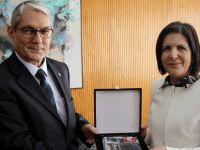 Siber, Büyükelçi Kanbay'ı kabul etti