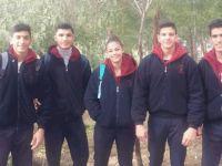 Yakın Doğu Koleji  Türkiye Salon Şampiyonası'nda